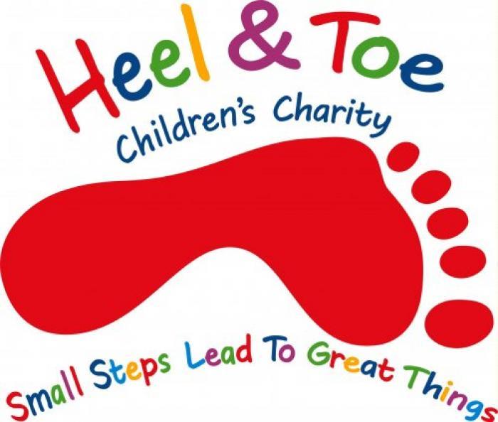 Heel to Toe Charity Logo